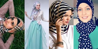 4 Motif Hijab Untuk Ceriakan Ramadhan