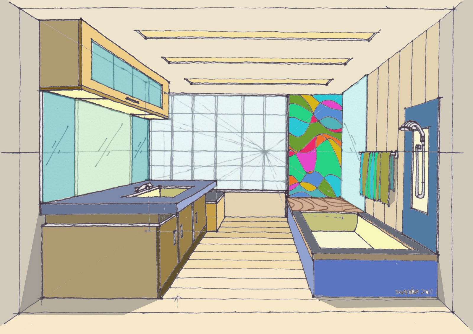 How to draw a room 220211 drawing and paint for Draw my room
