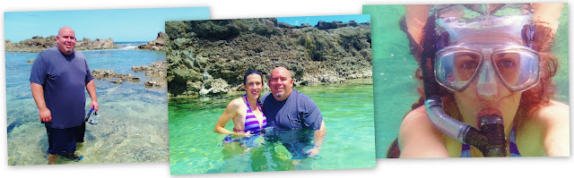 Snorkeling in Sharks Cove