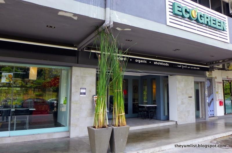 EcoGreen Organic, Taman Tun, healthy restaurants kuala lumpur, sustainable cafe