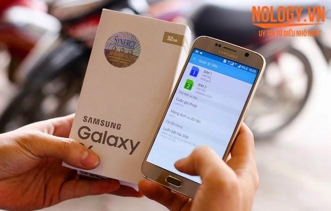 Samsung Galaxy S6 2 Sim 2 Sóng