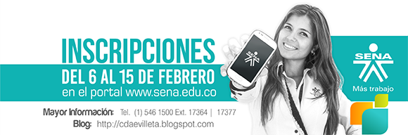 Segunda Oferta Educativa SENA 2015 - footer