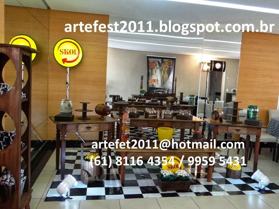 festa boteco decoracao rustica : festa boteco decoracao rustica:Centro de mesa também foi ideia da Cliente Ana Paula, bem diferente