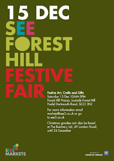 Forest Hill Festive Fair poster