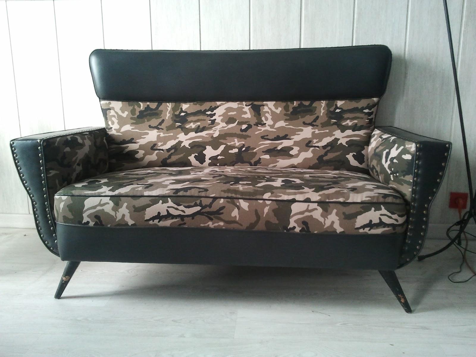 La tapicera in situ tresillo camuflaje - Sofas galerias del tresillo ...