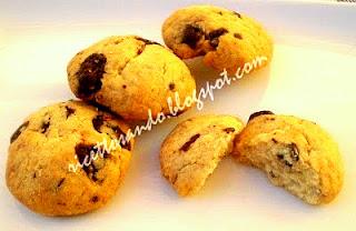 I gocciogolosi ricetta di biscotti dolci con cioccolato