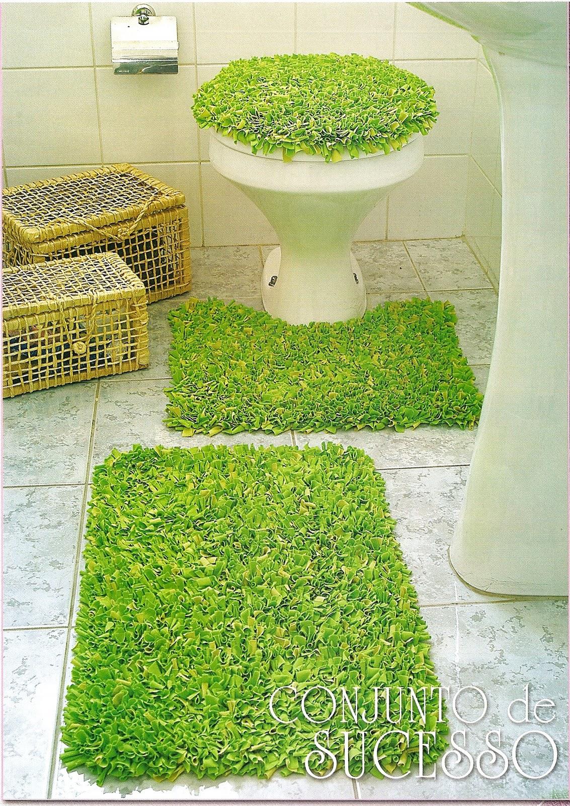 Коврик для ванной комнаты своими руками мастер класс