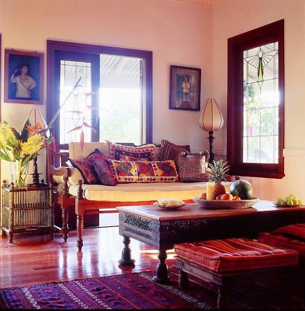 decoracion estilo hindu