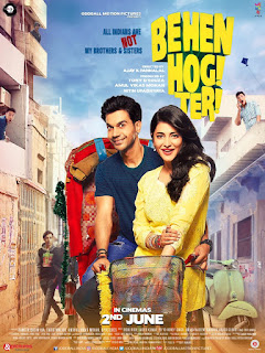 Behen Hogi Teri 2017 Hindi Movie 175Mb hevc HDRip