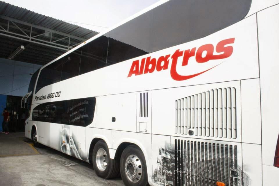 Gu a del viajero en m xico autobuses albatros estrena unidad de dos pisos - Autobuses de dos pisos ...