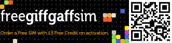Order your Free giffgaff SIM card via @freegiffgaffsim and get 5 pounds free credit!