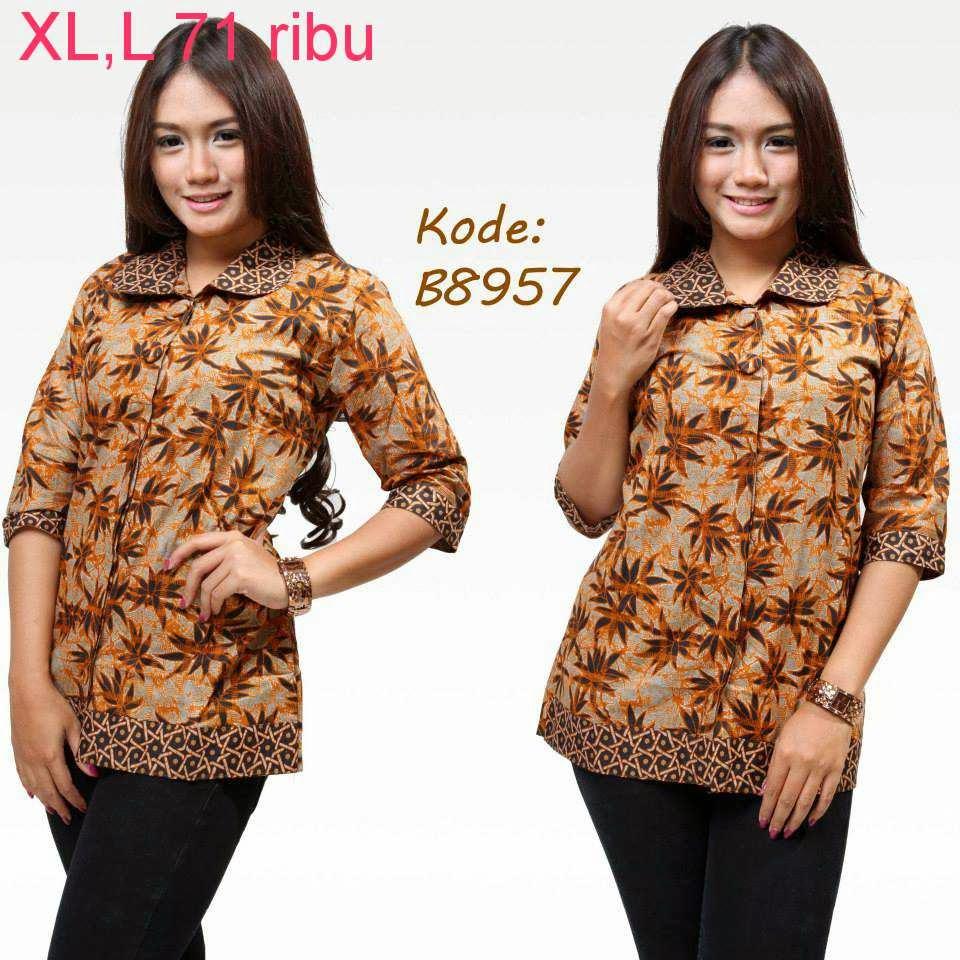 Baju Model Batik Terbaru Model Baju Batik