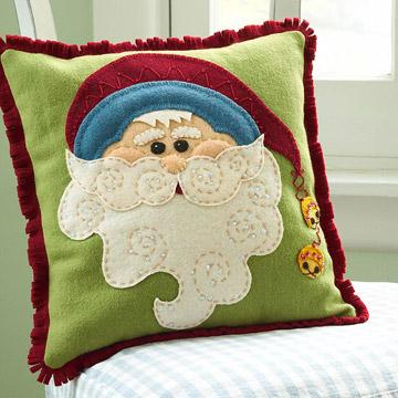 Новогодние подушки мастер класс