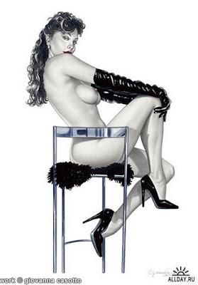 Dibujos-Pinturas Eroticas y Realistas Contemporaneas