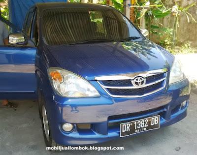 Tampak Depan Avanza G 2008 Mobil Jual Lombok