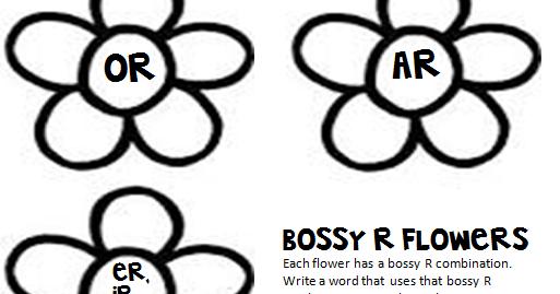 Teacher at the Wheel: Bossy R Freebie!
