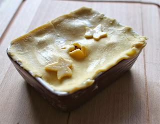 Uncooked pie
