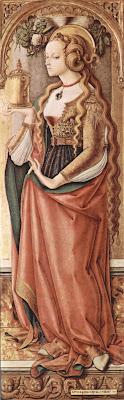 Maria Magdalena, kiintiönainen opetuslasten joukossa? (kuva Wikimedia Commonsista)