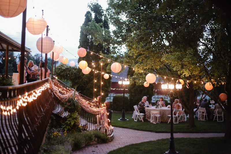 If Light At End Of Tunnel Is Green You >> Wadley Farms: Simply Elegant Wedding