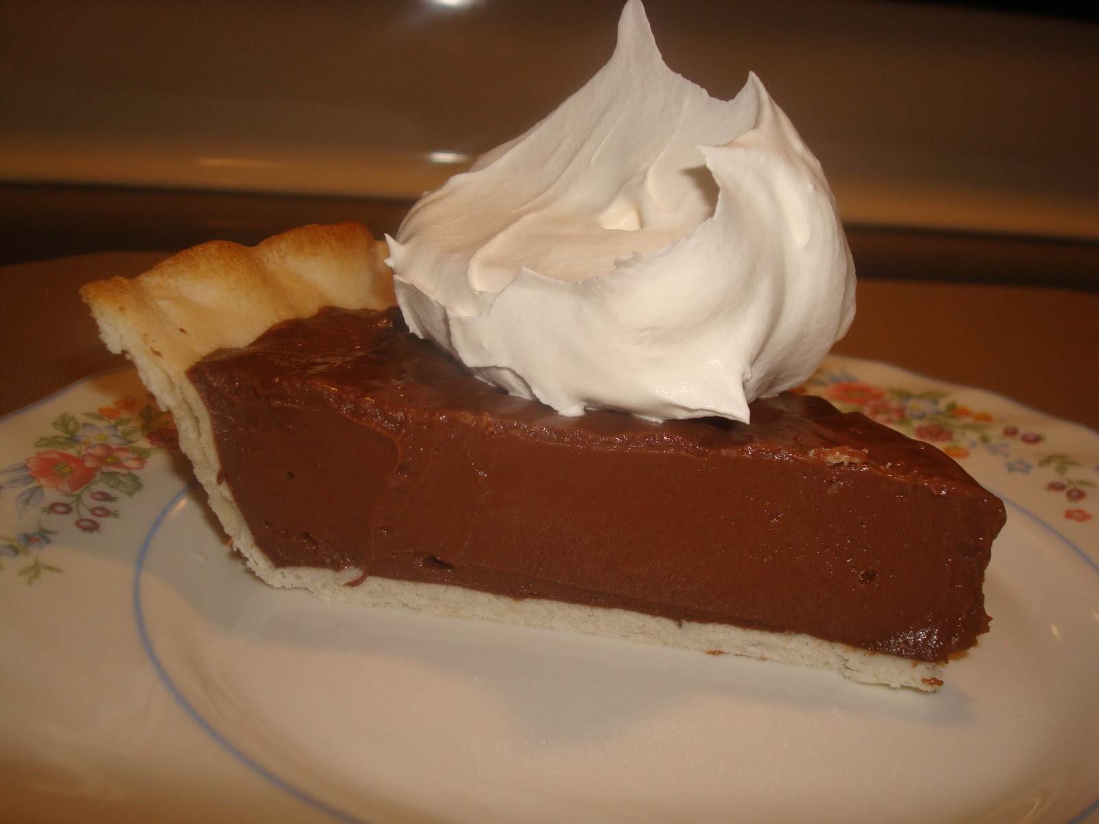 mocha me: Chocolate Cream Pie (with sweetened condensed milk)