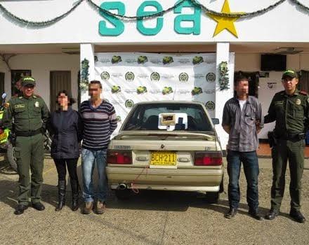 FUSAGASUGÁ: Capturados en La Aguadita