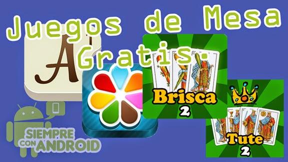 Cuatro juegos de mesa gratis para Android.