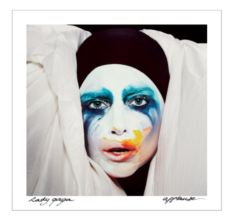 Lady Gaga Applause Single Artwork