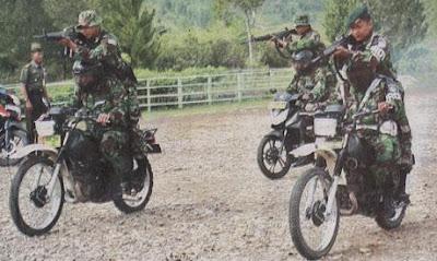 Aparat TNI sisir jalur imigran gelap di Cianjur
