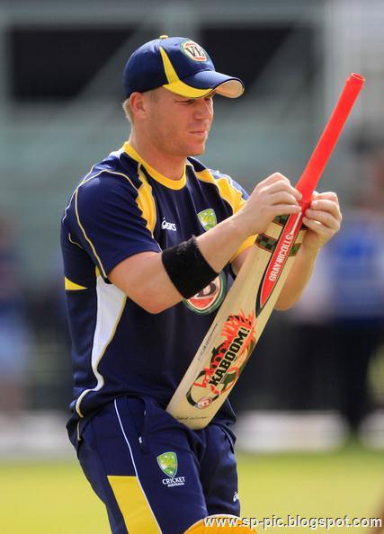 Australian Cricketer David Warner - 33.0KB