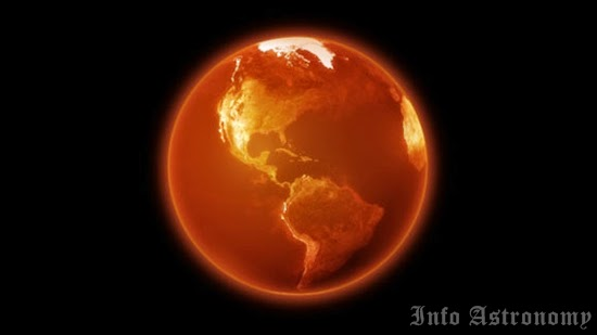 Kenaikan Suhu Bumi Mencapai 2 Derajat Celsius