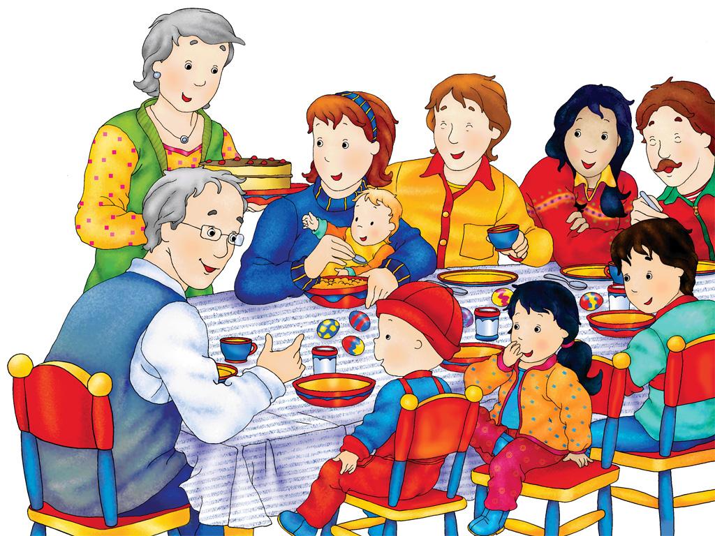 Caillou Children Television