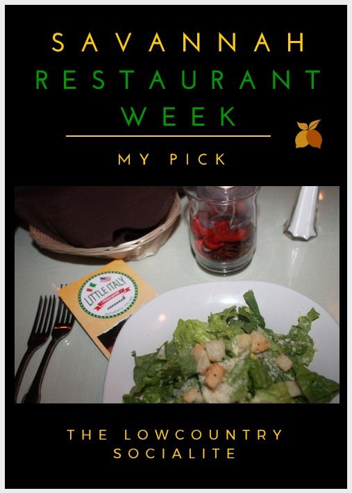 Savannah Restaurant Week Photos 2015