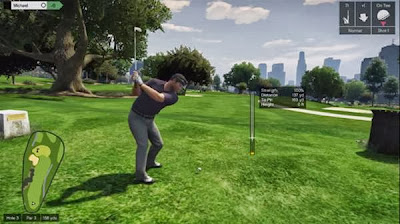 Prestigious golf course in the heart of Los Santos GTA V