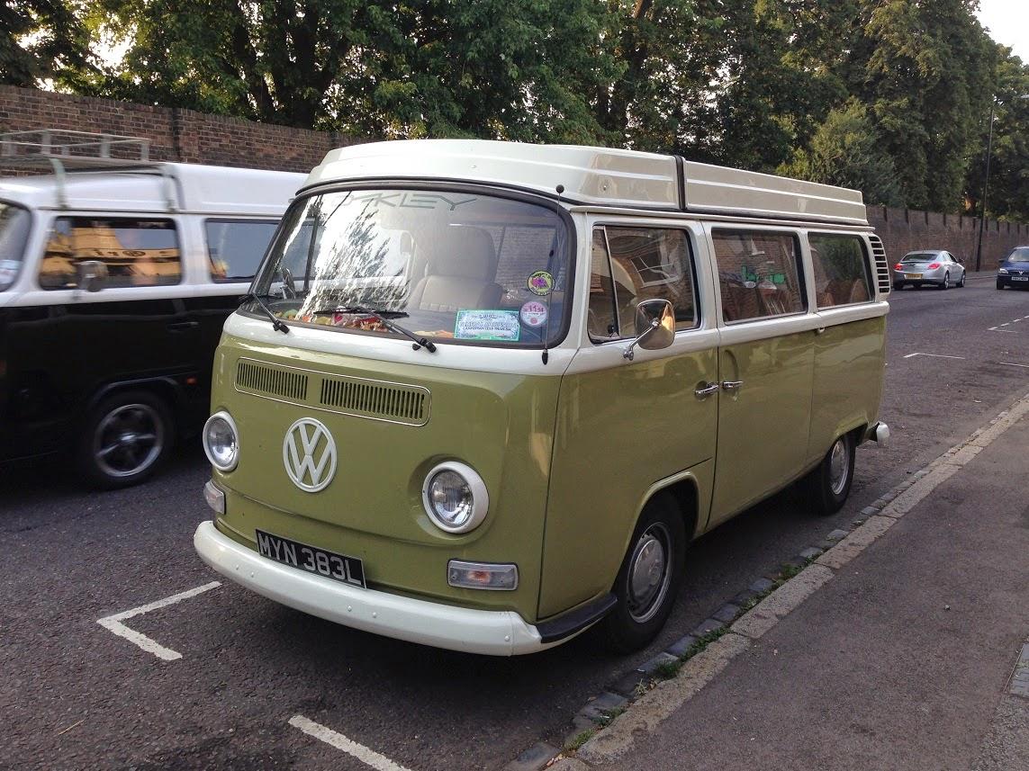 Volkswagen Camper Van, Kew Gardens, London