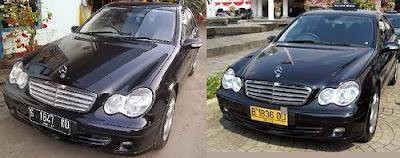 Mercedes-Benz C230 Menjadi Taksi