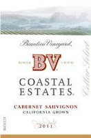 BV Coastal Estates Cabernet Sauvignon bottle