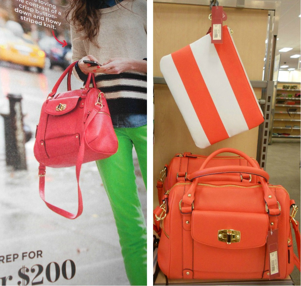 This Merona Satchel Is Featured Month S Lucky Magazine And It Sure To Out Since Resembles A Coach Bag With 39 99 Price Tag
