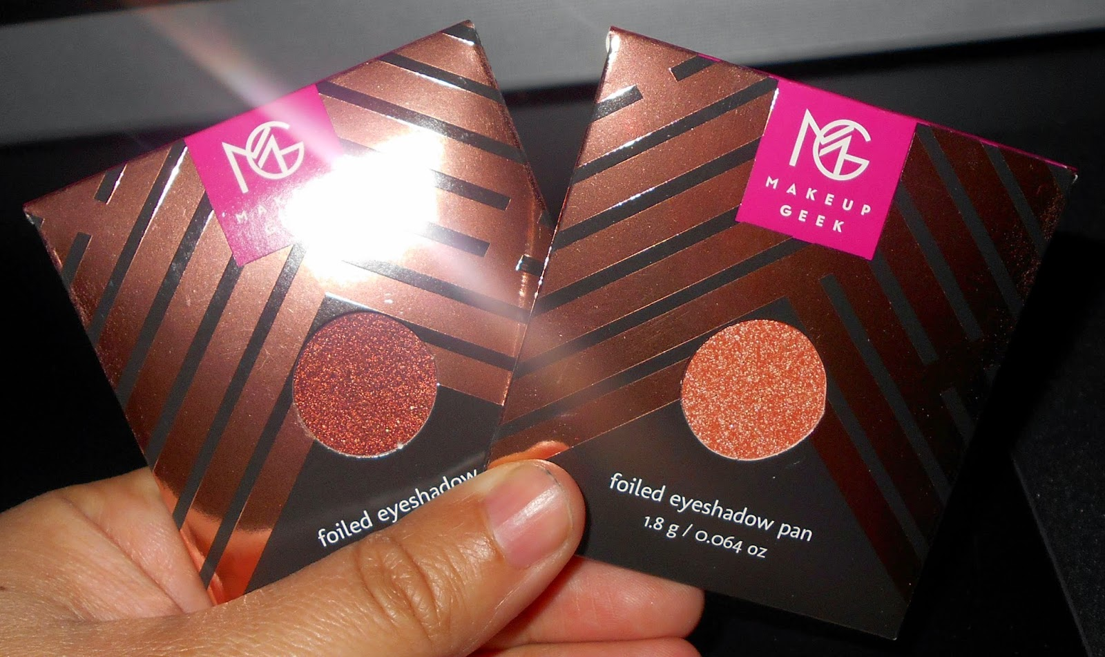 Makeup Geek Foiled Eyeshadows & Blush
