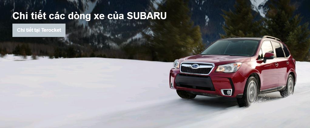 Các dòng xe Subaru & mẫu xe Subaru từ trước đến nay