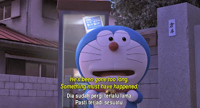 Doraemon Stand by Me (2014) 720p - 764MB - English + Indonesian Subtitle