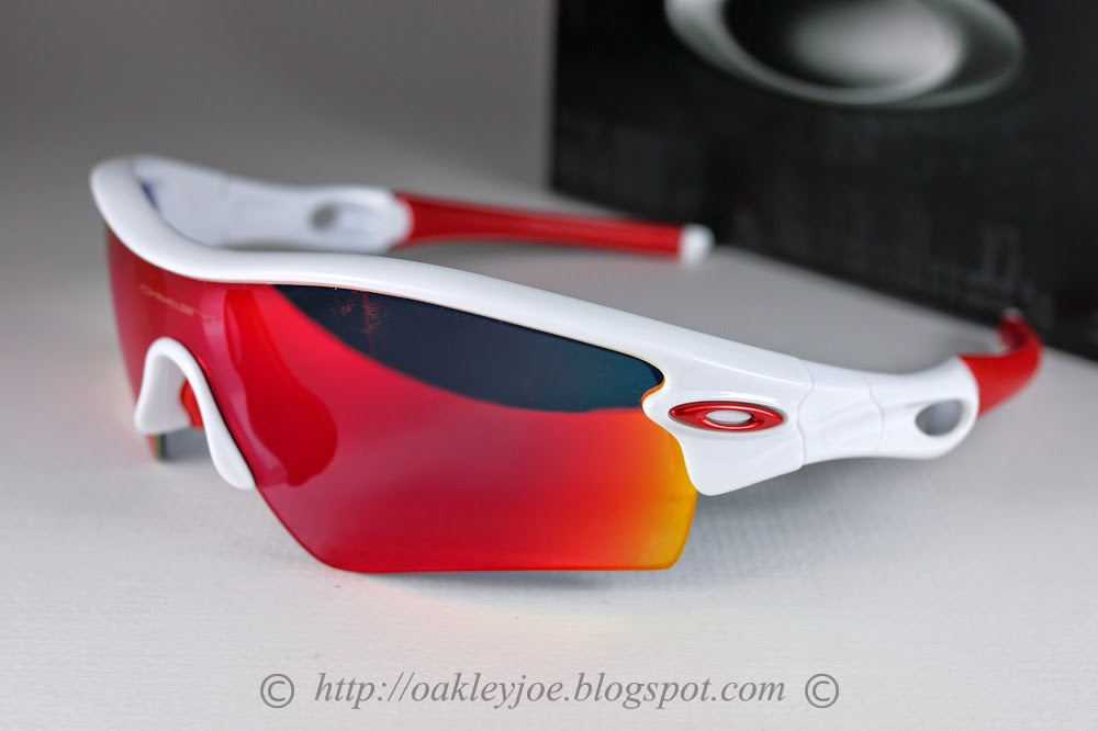 Oakley Replacement Lens Radarlock Path - positive red iridium 4cdX1