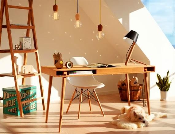 lâmpada sem lustre - fio tripolar revestido - faça você mesmo - ideia para iluminação
