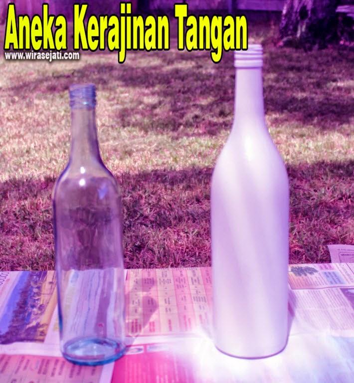 Botol bekas, Botol bekas yang sudah dibersihkan,