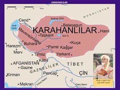 Karahanlılar Devleti Haritası
