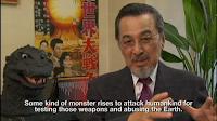 Akira Takarada in Bringing Godzilla Down to Size