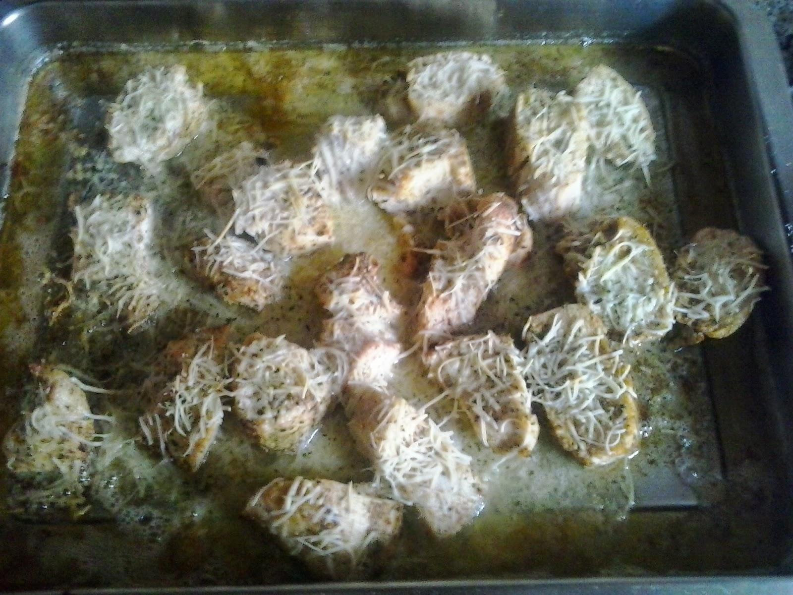 Pechuga de pollo al horno por uno