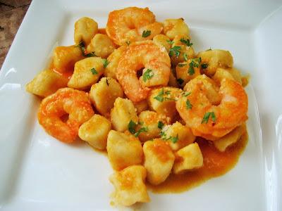 Shrimp-Gnocchi