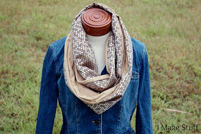 Infinity Scarf Tutorial