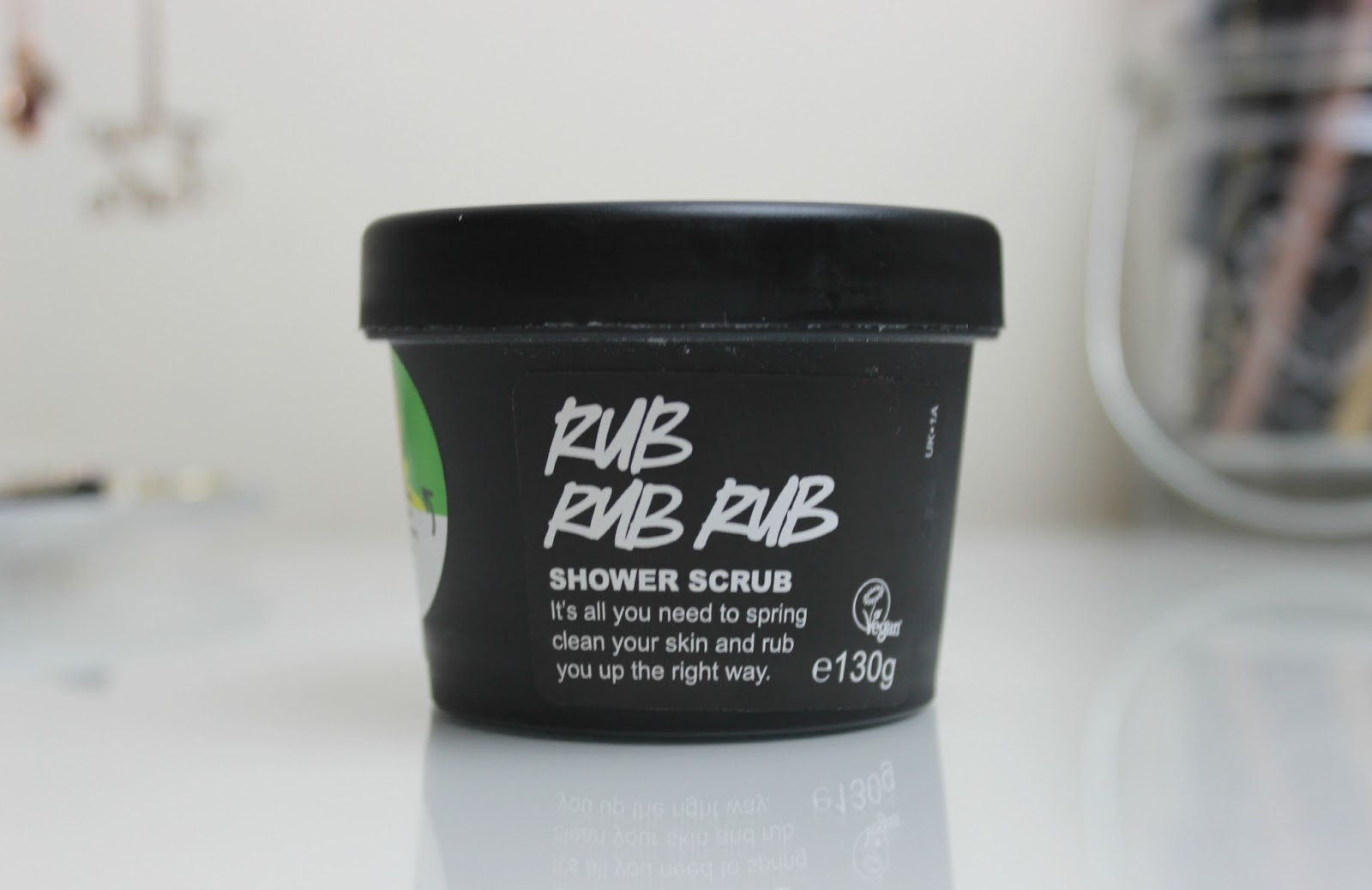 A picture of Lush Rub Rub Rub Shower Scrub