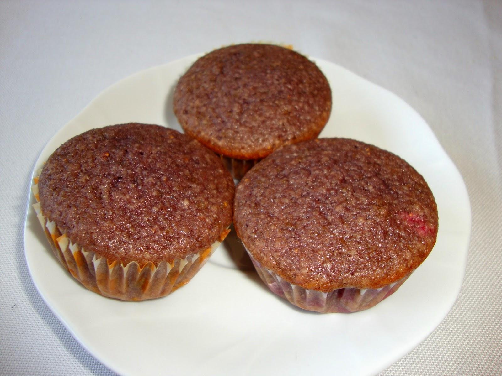 cupcakes de fresas con mascarpone y chocolate blanco